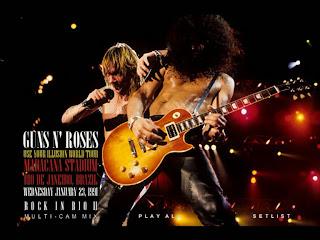 Guns n' Roses - 1991-01-23 - Rio De Janeiro, BR (DVDfull pro-shot)