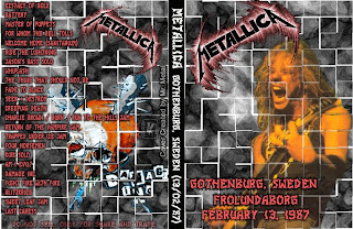 Metallica - 1987-02-13 - Gothenburg, Sweden (DVDfull aud-shot)