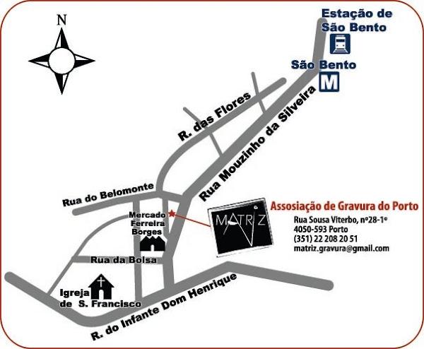 Localização da Matriz