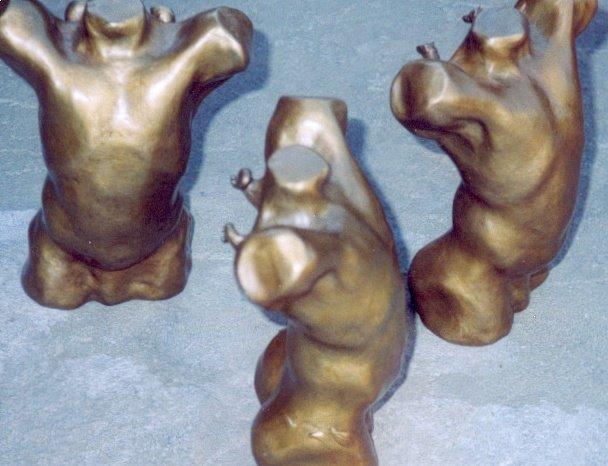 Toby, bronze, by Edward Huse