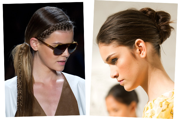 Spring 2011 Hair Color Trends Brown 1. Lacoste Spring