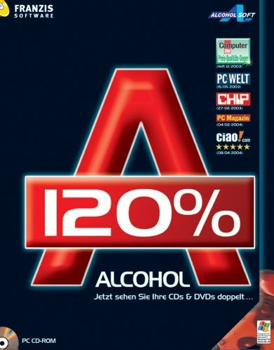Free Download Alcohol 120% 1.9