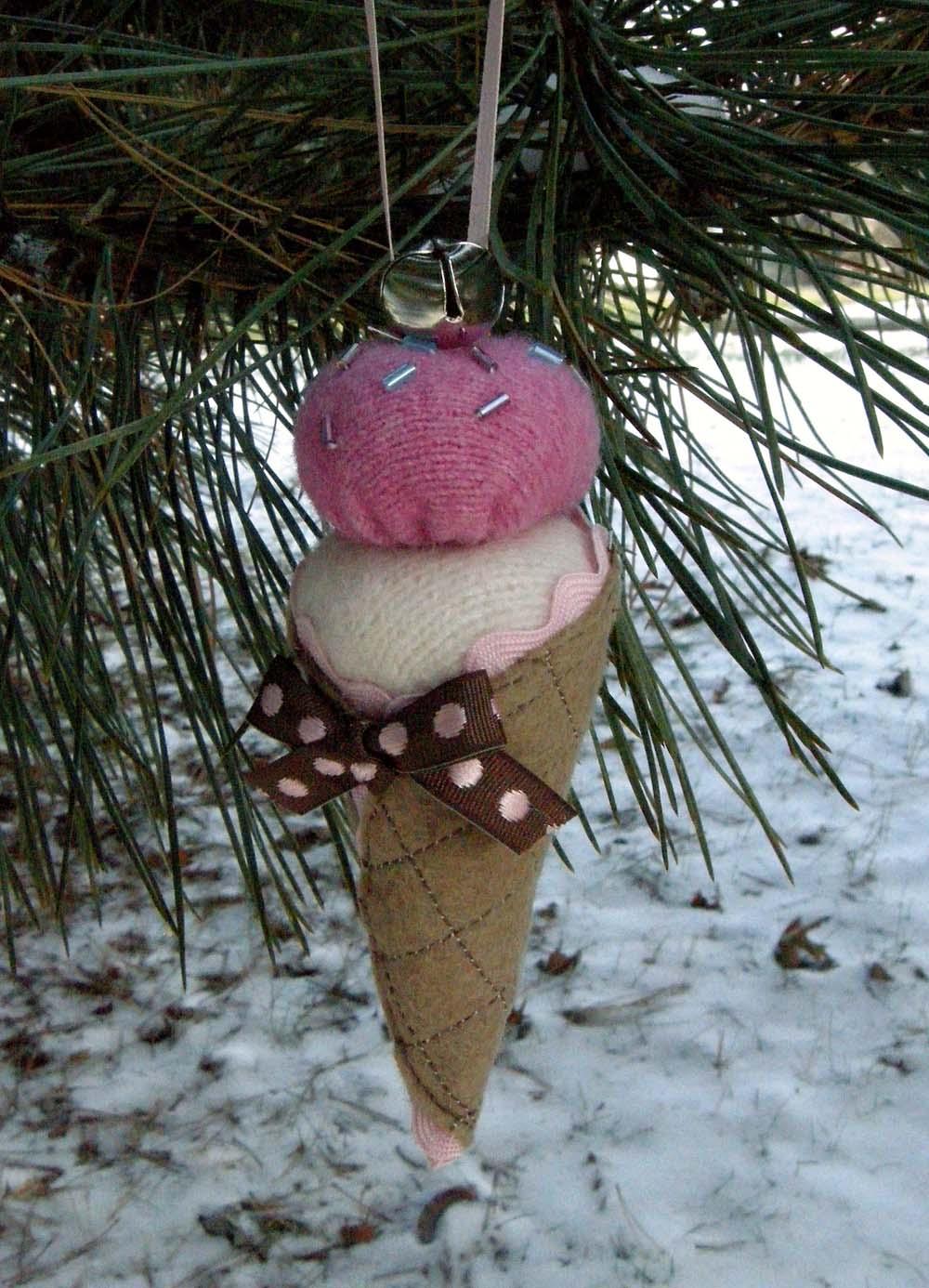 Как сделать мороженое на елку
