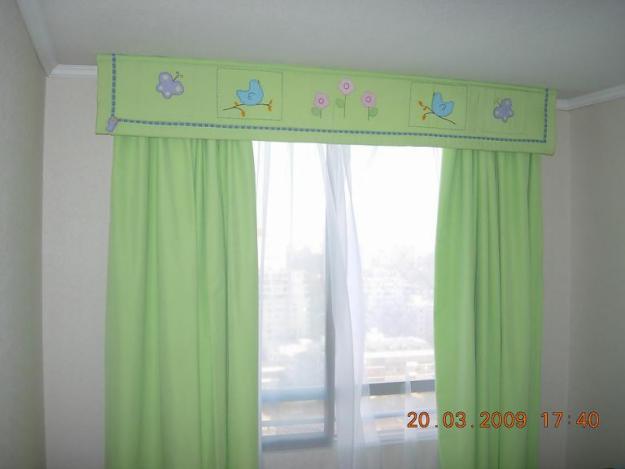 Ediciones y confeciones confecciones de cortinas para el for Cortinas infantiles