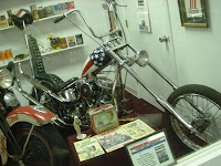 Copy of the Captain America bike from Easy Rider