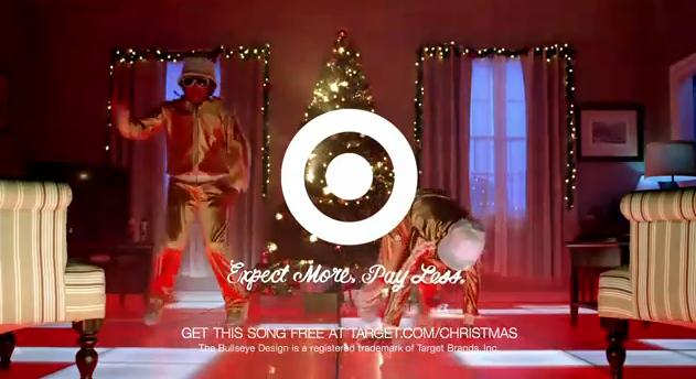 electronic santa claus target. I guess his kids have been dancing to 'Electronic Santa Claus' every night