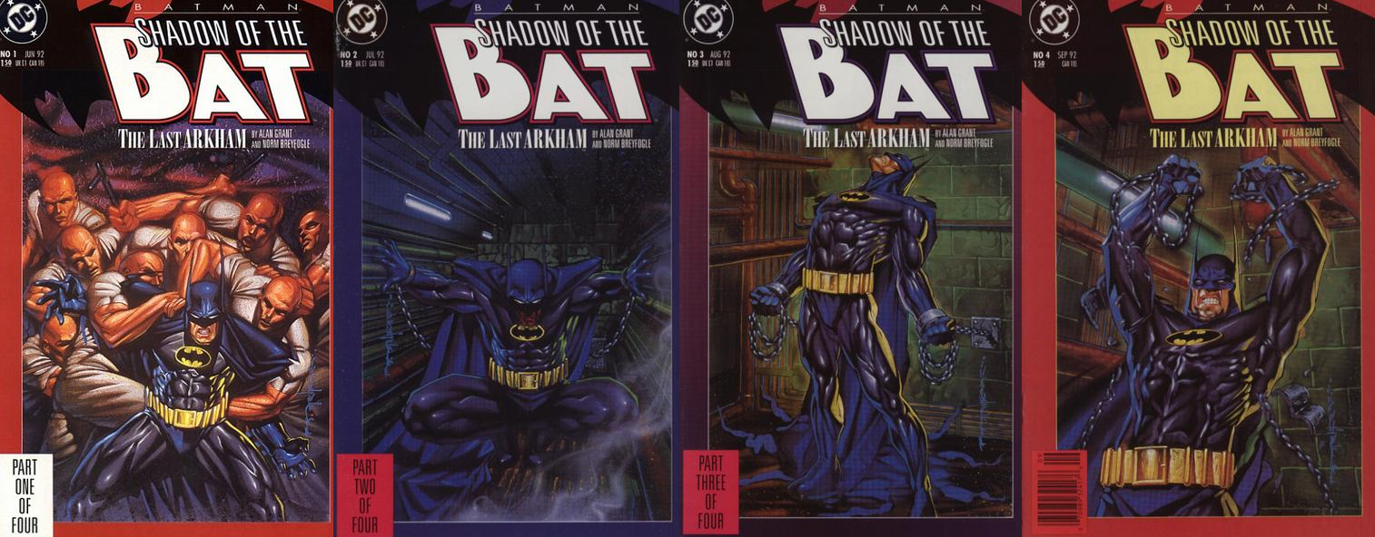 Resultado de imagem para batman shadow of the bat return asilo arkham
