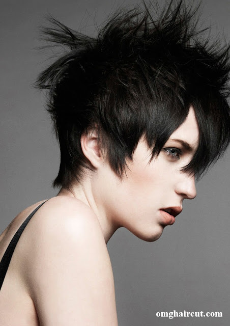 carl keeley hair Razor Cut Short Hair Styles