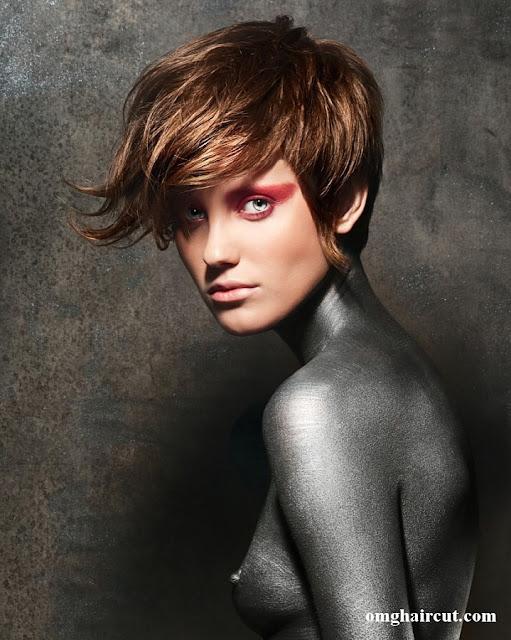 gemma wilmot hair Razor Cut Short Hair Styles
