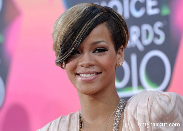 rihanna hair red short. rihanna hairstyles short hair.