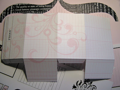 paper purse and box template