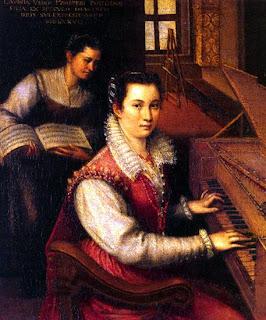 Biografías. - Página 3 Autorretrato+tocando+la+espineta+(1577)