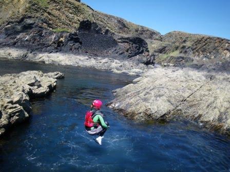 Celtic quest coasteering pembrokeshire sun shows its face for Celtic quest fishing