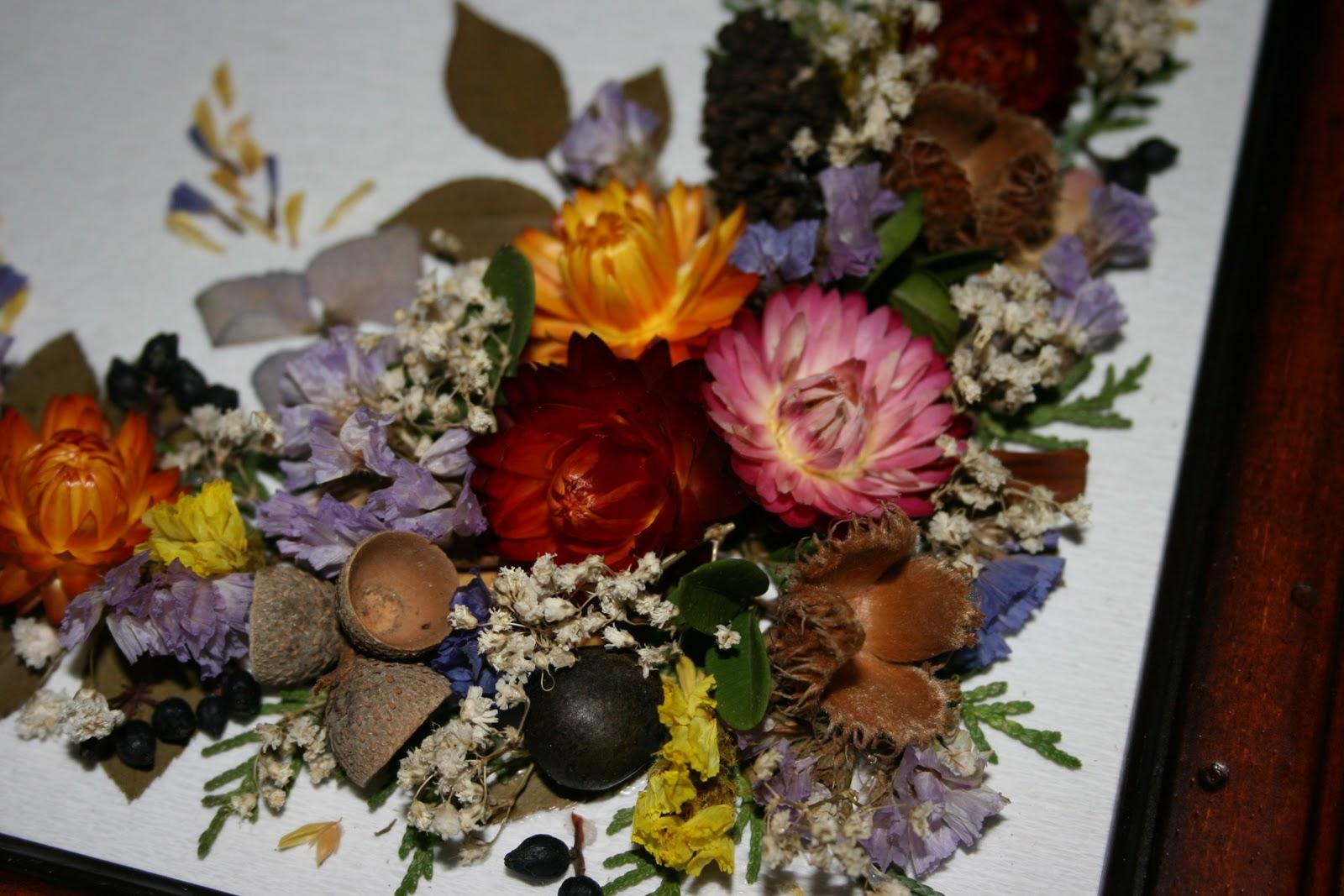 Di tutto di piu 39 quadro di fiori secchi for Quadri di fiori