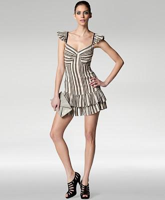 Tracy Reese cap sleeve dress.