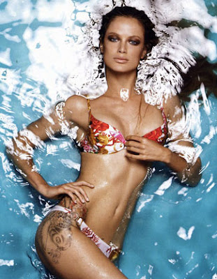 a universe within a universe, carolyn murphy's koi fish tattoo,