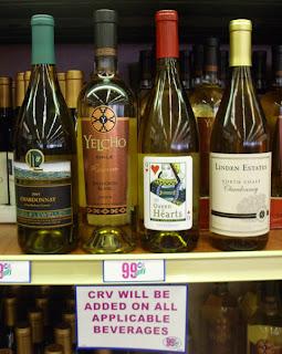 Bloggers 9999 Cent White Wine Tasting