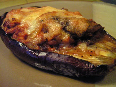 the left over stuffing and bake along with the stuffed eggplants or ...