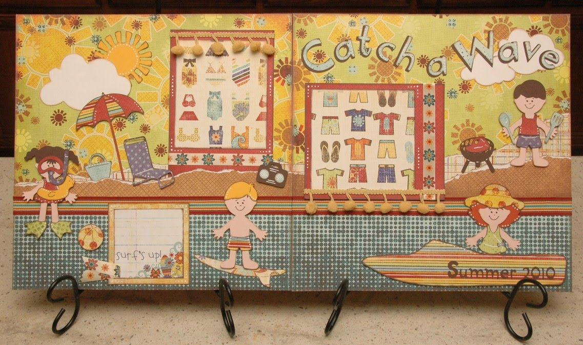 Catch a Wave Layout Kit