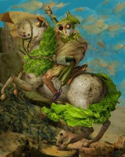 Наполеон върху картоф