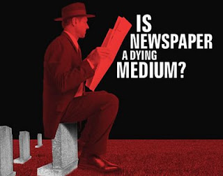 Умира ли вестникът като медия?