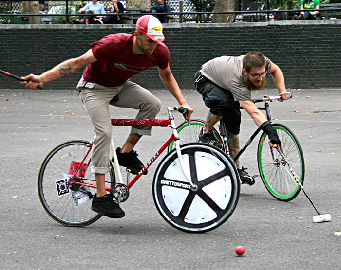 'Bike Polo' from NY Daily Photo blog
