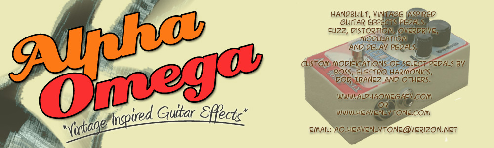 Alpha Omega  Vintage Guitar Effects