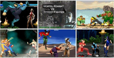 o85 Mortal Kombat vs Street Fighter PC