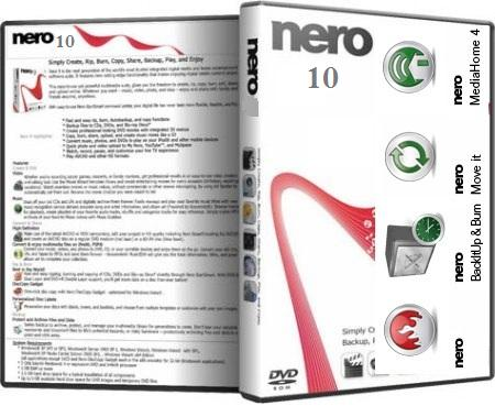 Nero 10 Serial e Keygen - Raton