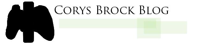 Corys Brock Blog
