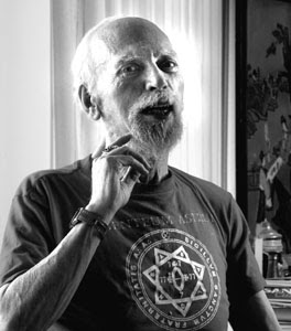 Robert Anton Wilson in later life