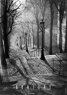 les escaliers de Montmartre - Brassaï 1936