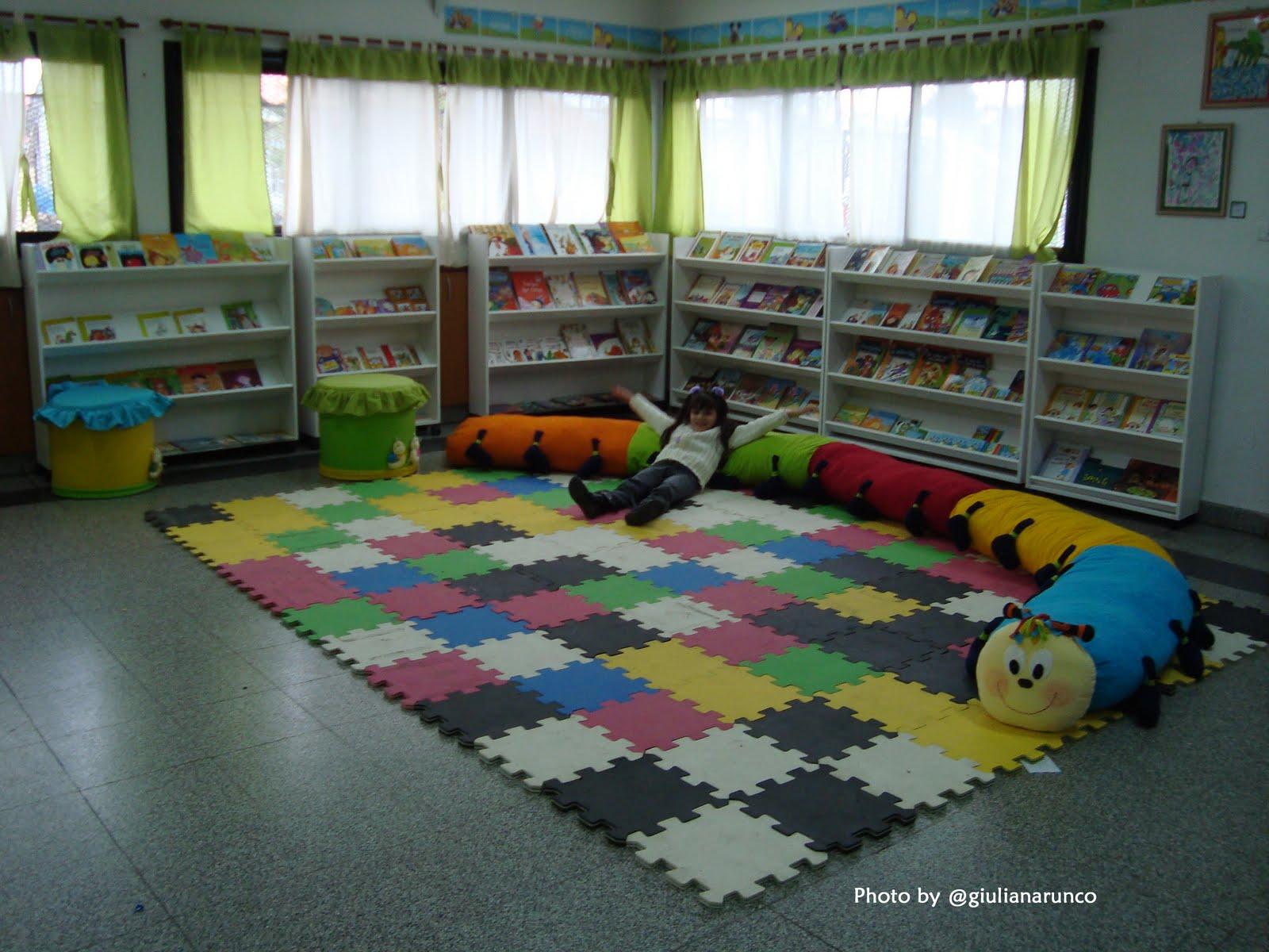 Playhouse disney y fundaci n leer inauguran biblioteca en for Decoracion jardin maternal
