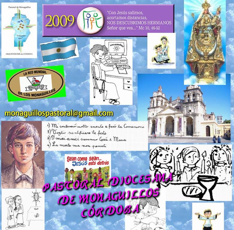 MONAGUILLOS PASTORAL (Arquidiócesis de Córdoba - Argentina )