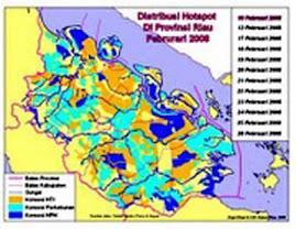 Hot Spot di Riau