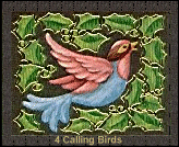 four calling birds