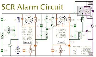 rangkaian alarm|sirine