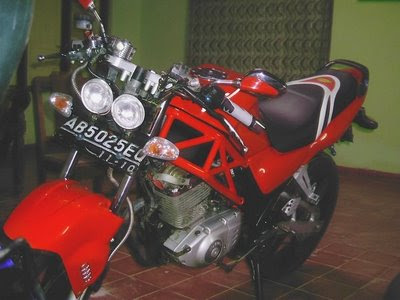 Suzuki Thunder 125 Modification