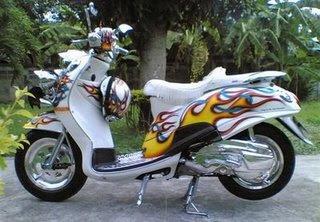 Yamaha Fino Photo Modified