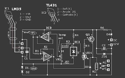 Rangkaian Control|Pengendali Suhu Ruangan