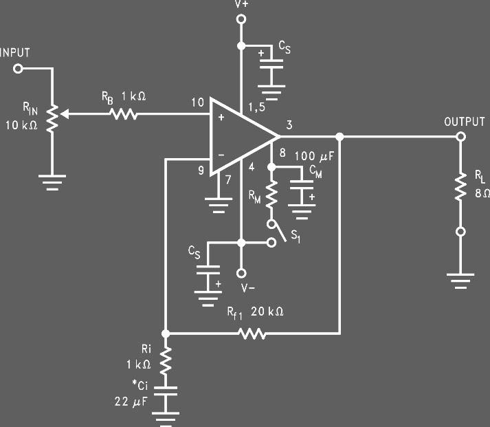 skema lm3886 68 watt audio power amplifier yk69 elektrolm3886 68 watt audio power amplifier
