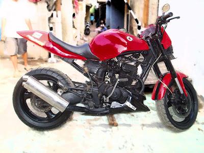 Honda tiger modif