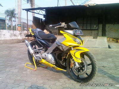 Modifikasi Yamaha 135LC