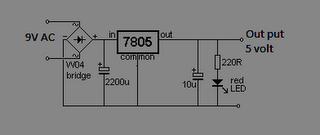 rangkaian regulator 5 volt
