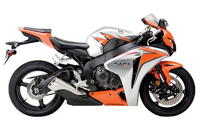 Honda CBR1000RR Fireblade 2010 Orange