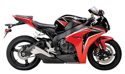 Honda CBR1000RR Fireblade 2010 Red