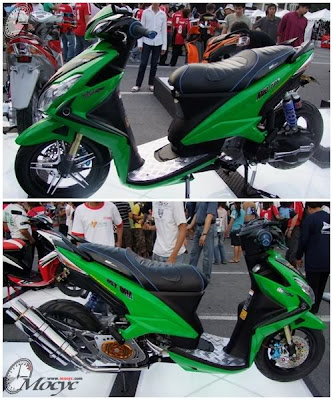 Yamaha Xeon 125 Modified