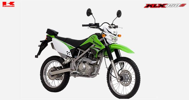Kawasaki Trail KLX 150S Spec title=