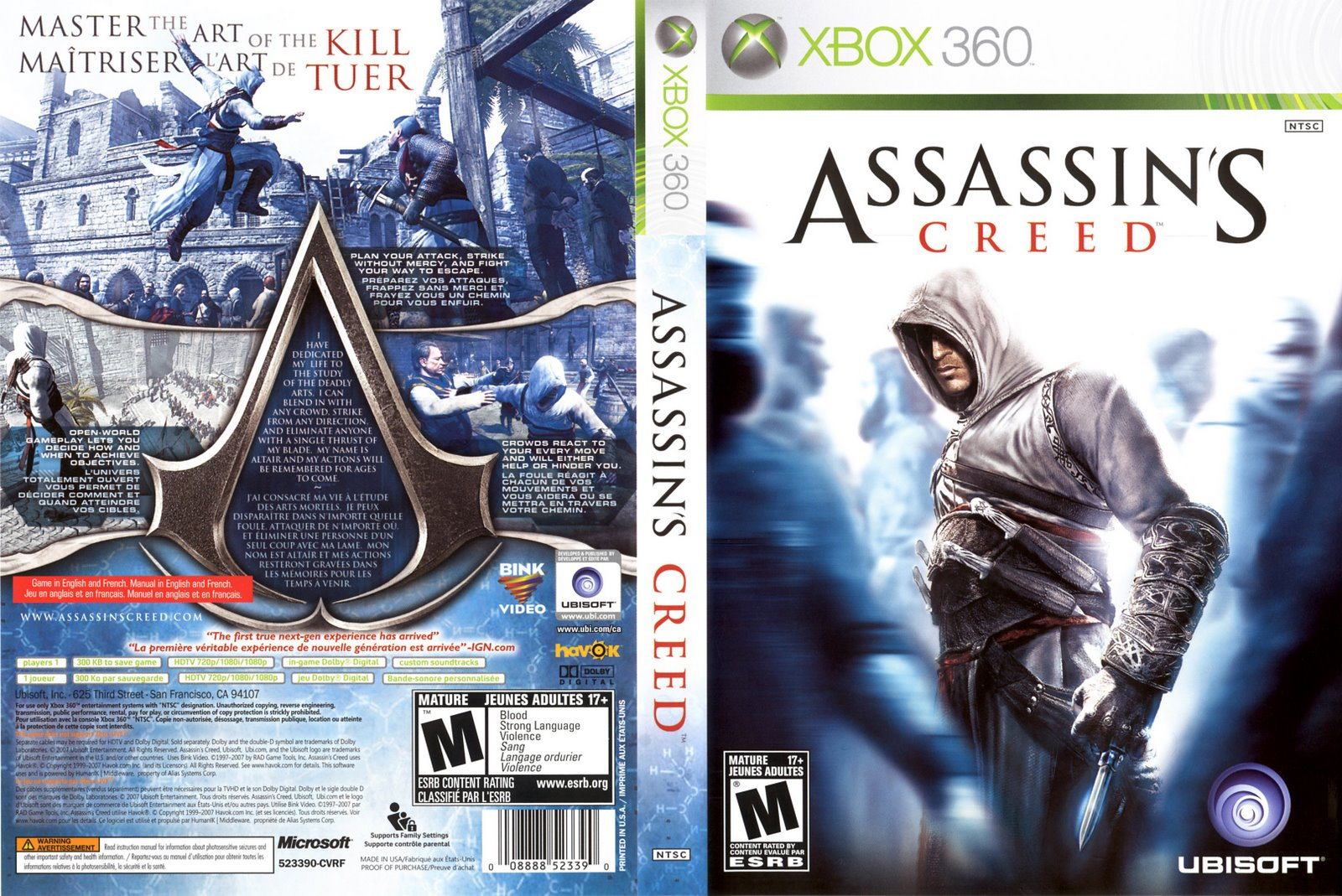 games covers assassins creed xbox 360