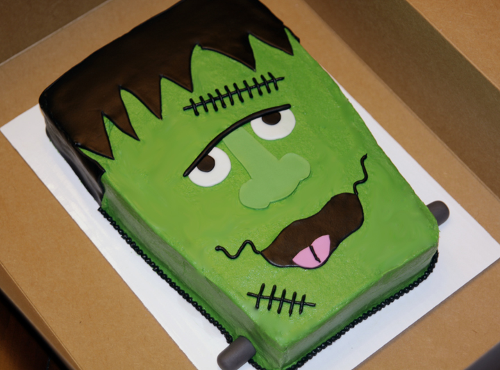 Frankenstein Cake Ideas